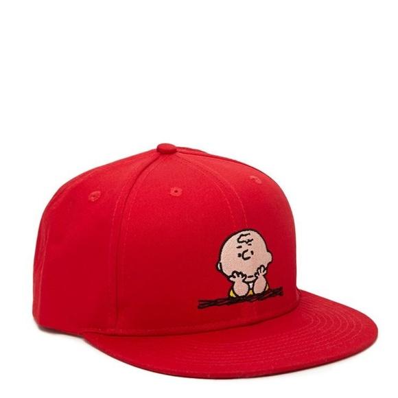 Forever 21 Accessories - Charlie Brown Peanuts Baseball Cap 62cb0e7fa89